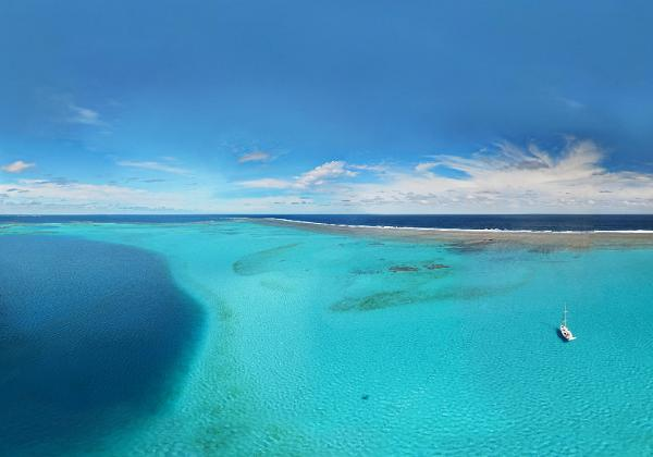 New Caledonia is blessed with astonishingly beautiful seascapes.