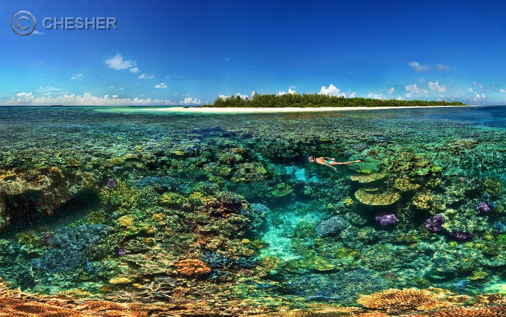 New Caledonia Lagoon